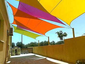Sonnensegel Bilder sonnensegel sonnenschutz beschattung wasserfest gewebtes rechteck
