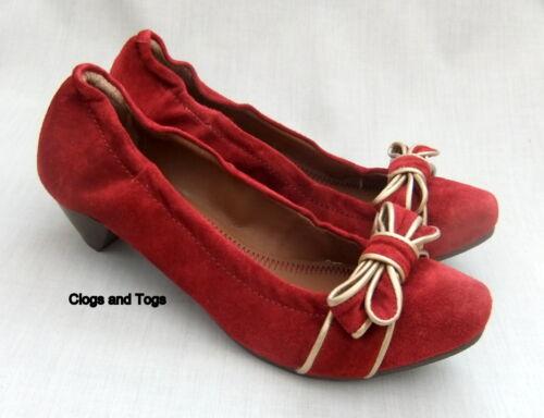 5 stretch taille daim Star 639 en Clarks Award chaussures femme pour Nouvelles rouge mv0PNwnyO8