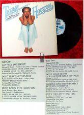 LP Thelma Houston: Any Way you like it