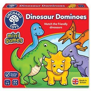 Orchard-Toys-353-Dinosaur-Dominoes-Travel-Mini-Game-28-Cards-Toddler-Children-3