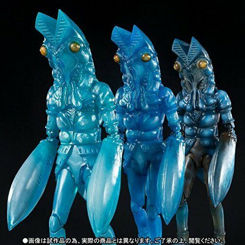 S.H.Figuarts Ultraman ALIEN BALTAN SHADOW CLONE SET SET SET Action Figure BANDAI NEW F/S 571cae