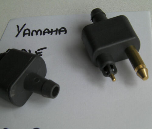 YAMAHA OUTBOARD MOTOR FUEL CONNECTOR ONE MALE PATTERN Code 73258 HOSE TAIL