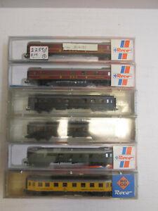 Konvolut-6-Roco-Spur-N-Personenwagen-24214-24215-24217-24218-OVP
