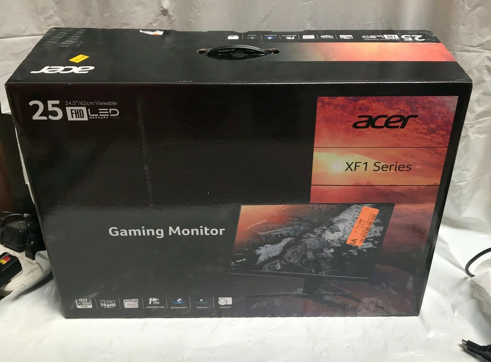 Acer Xf251q 24 5 Fhd 1920 X 1080 Tn Monitor With Amd Freesync Technology For Sale Online