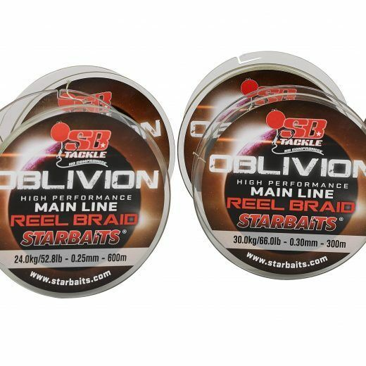 STARBAITS OBLIVION BRAID MAINLINE - 66LB   600M