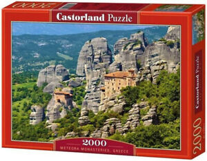 "Castorland Puzzle 2000 Pieces METEORA MONAST 92x68cm 36""x27"" Sealed box C-200306"