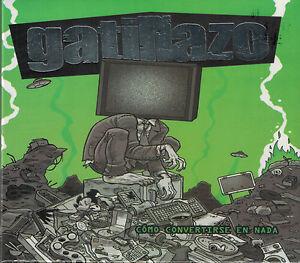 como-convertirse-en-nada-GATILLAZO-CD-FREE-SHIPPING