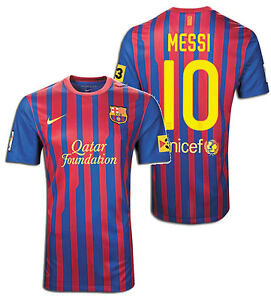 nike fc barcelona lionel messi home jersey 2011 12 ebay details about nike fc barcelona lionel messi home jersey 2011 12
