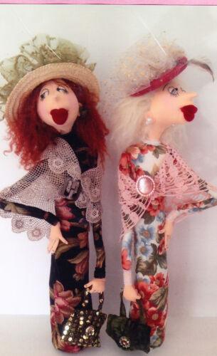 Leonora /& Lily fun character cloth doll PATTERN PATTERN Jill Maas