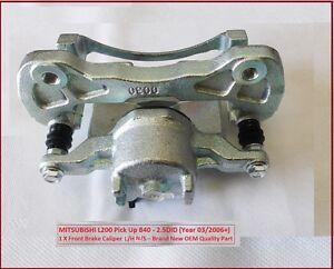pour-Mitsubishi-L200-Support-B40-2-5DiD-ETRIER-DE-FREIN-AVANT-L-h-nouveau