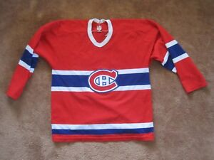 best sneakers f65cd bcaf5 MASKA NHL HOCKEY REPLICA JERSEY SWEATER #30 MONTREAL ...