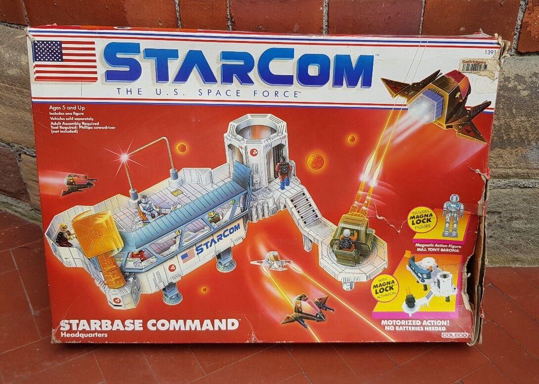 Vintage Starcom Starbase Command Headquarters Coleco