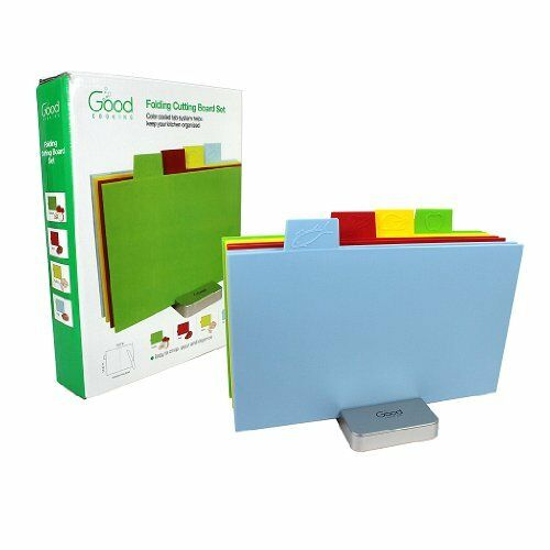 Cutting Board Set Index Folding colord Coded Chopping by Good Cooking