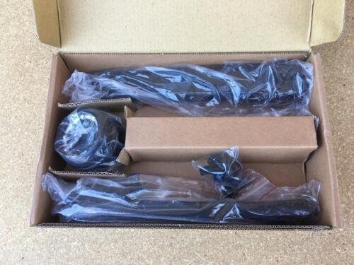 New Black 175mm 3-Piece BMX CRANK SET CR-MO 8T American Sealed Bearings BIKE