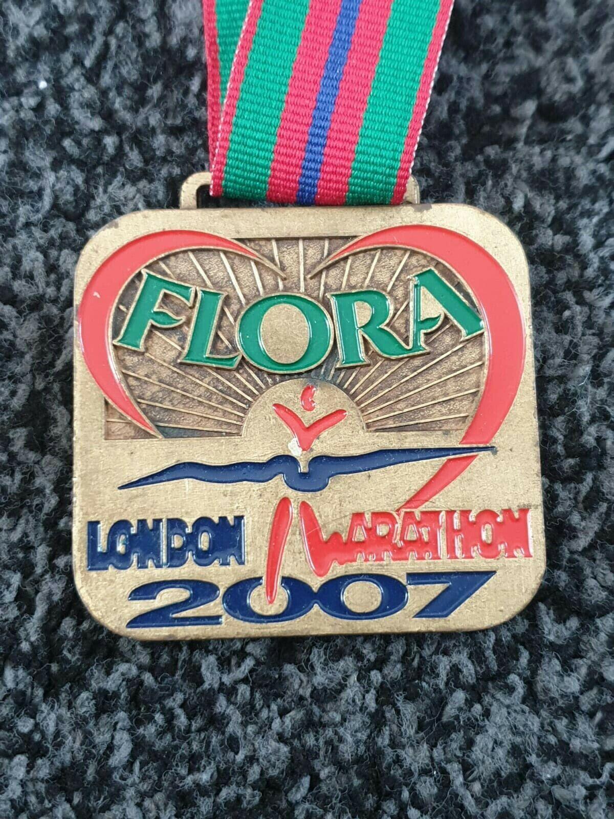 Flora London Marathon 2007 Finishers médaille