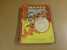 MICKEY ALBUM N° 5 / ONKOMPLEET EN IN SLECHTE STAAT