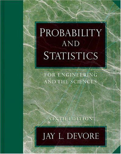 Details about Probability And Statistics For Engineering And The Sciences  by Jay L Devore