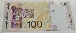 Malaysia RM100 8th series Don AA7589814 good EF