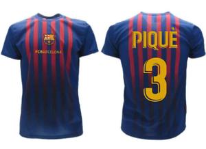 Maglia Calcio PIQUE/'  Ufficiale Barcellona GERARD N 3  2018-2019 BARCA