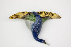 Vintage-Duck-in-Flight-Hanging-Vase-Made-in-Japan