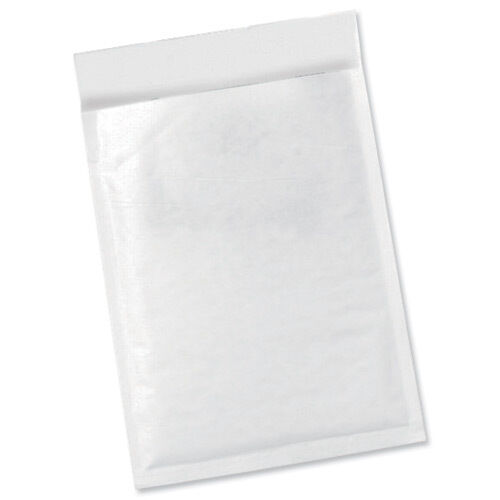 50 C4 PADDED MAIL ENVELOPES A4 WHITE BUBBLE BAG 906675
