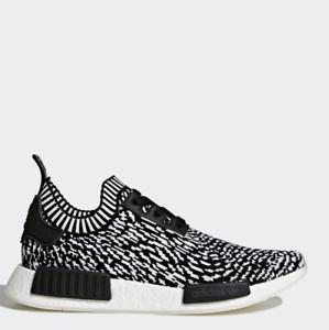 28e7456ca Adidas Originals NMD Runner PK Black White White BY3013 Size 4-11 ...
