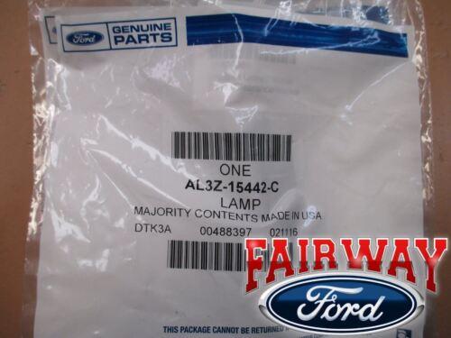 10 thru 14 F-150 OEM Ford Raptor Front Grille Running Light Marker Lamp Set of 3