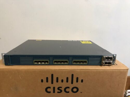 CISCO WS-C3560E-12SD-E 12 Port SFP Giga Layer 3 Switch 10G ipservices 3560E-12SD