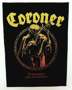CORONER-BACKPATCH-SPEED-THRASH-BLACK-DEATH-METAL