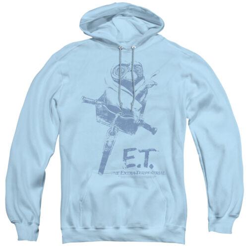 E.T ET Extra-Terrestrial Movie BIKE Basket Licensed Adult Sweatshirt Hoodie