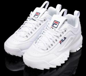 FILA-Womens-Disruptor-II-2-Sneakers-Casual-Athletic-Shoes-Unisex-Size-UK-3-9
