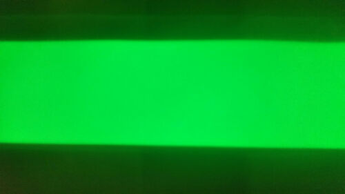 Powerful GLOW IN THE DARK PVC tape with 3M adhesive peel off 50mm wide 50cmlong