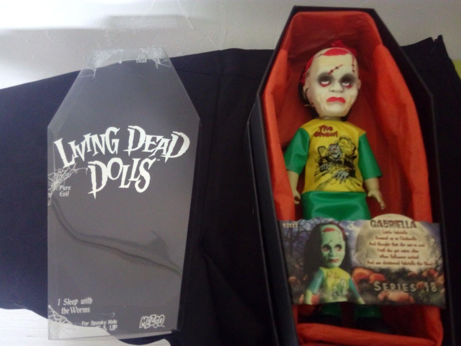 per il commercio all'ingrosso LIVING LIVING LIVING DEAD bambolaS SERIE 18 GABRIELLA COMPLET  Offriamo vari marchi famosi