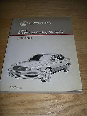 1990 lexus ls400 wiring diagram 1990 lexus ls400 ls 400 electrical wiring diagram service shop  1990 lexus ls400 ls 400 electrical