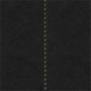 Wallpaper-Designer-Nail-Head-Stripe-on-Dark-Navy-Black-Faux-Leather