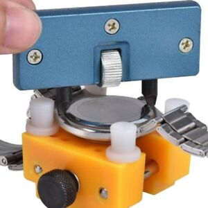 US-Watch-Back-Case-Cover-Opener-Remover-Holder-Wrench-Repair-Kit-Adjustable-Tool