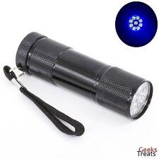 9 LED UV Black FlashLight Torch Cat Dog Pet Rodent & Animal Urine Stain Detector