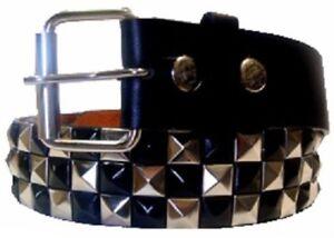 ceinture-femme-cloutee-noir-chrome-imitation-cuir-T-disponible-S-L-XL