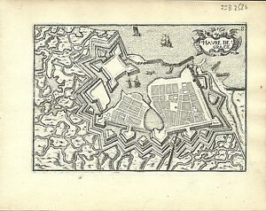 Antique-map-Havre-de-Grace-Le-Havre