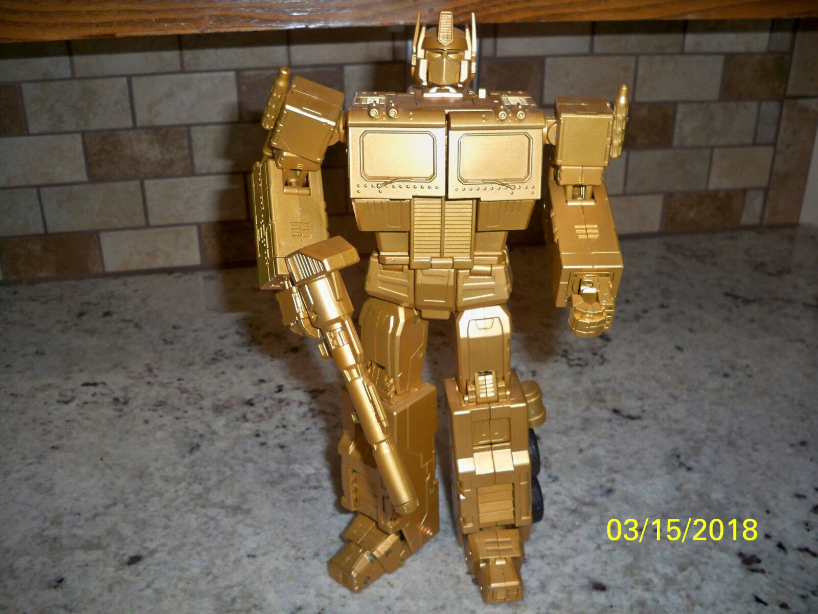 gold 4th party Masterpiece optimus prime mp-01