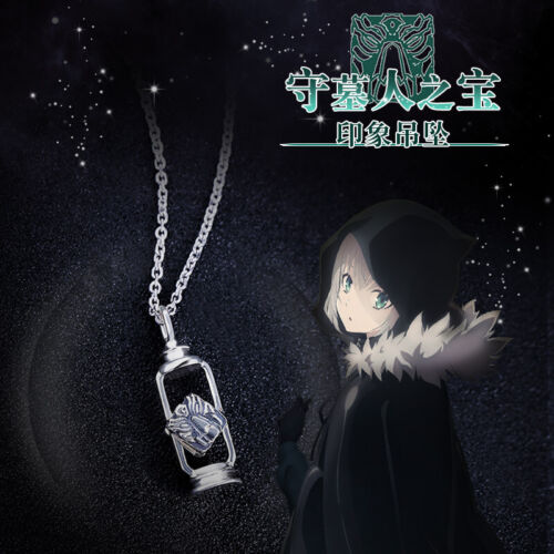 Lord El-Melloi II Case Files Gray Pendant Necklace 925 Silver Cos Jewelry gift