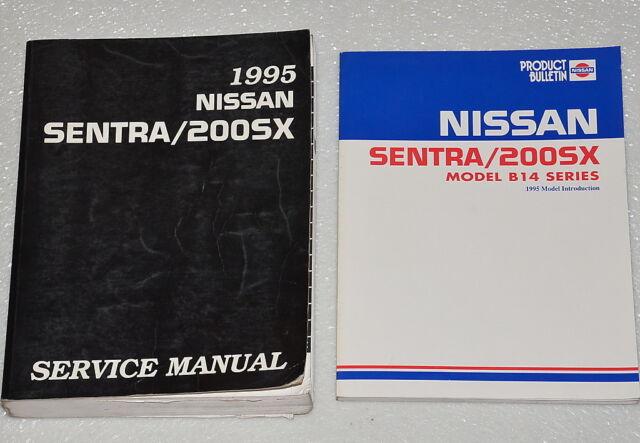 Diagram  1991 Nissan Sentra Nx Coupe Service Shop Set Oem