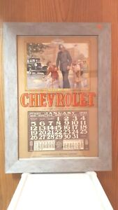 1930-Original-Chevrolet-Dealer-Advertising-Wall-Calendar-Excellent-Condition