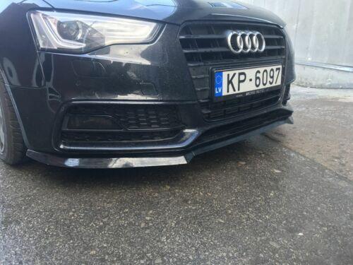 Tomcat design Black Gloss Spoiler For Audi A5 S5 B8.5 Facelift Front Bumper