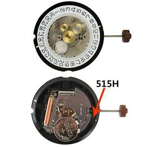 Ronda-515-24H-24Hour-Movimiento-de-Cuarzo-Reloj-Recambios-con-371-Bateria-y-Stem