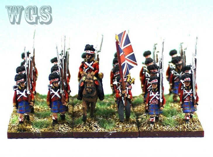 15mm napoleónicas un Pintado británico Highlander btln (24 figuras) NBA4-1