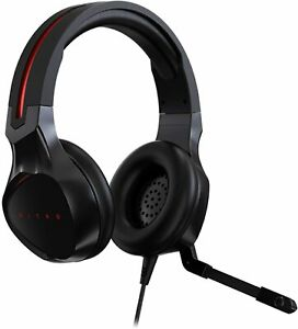 Acer Nitro Gaming Stereo Headset Wired, 20 Hz - 20 KHz, 21 ohm Black