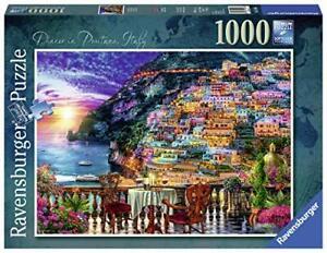 Ravensburger-Jigsaw-Puzzle-DINNER-AT-POSITANO-1000-Piece