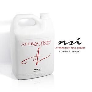 nsi Attraction Nail Acrylic Liquid 1 Gallon/ 128 fl oz
