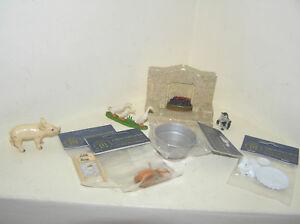 Dettagli su Mobili per casa delle bambole accessori da cucina camino lavare  Bordo vasca da bagno servizio da tè lotti- mostra il titolo originale